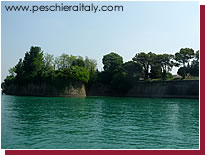 Part of the fortress complex in Peschiera